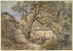 'Landour.  In the Himmalayahs 1869'